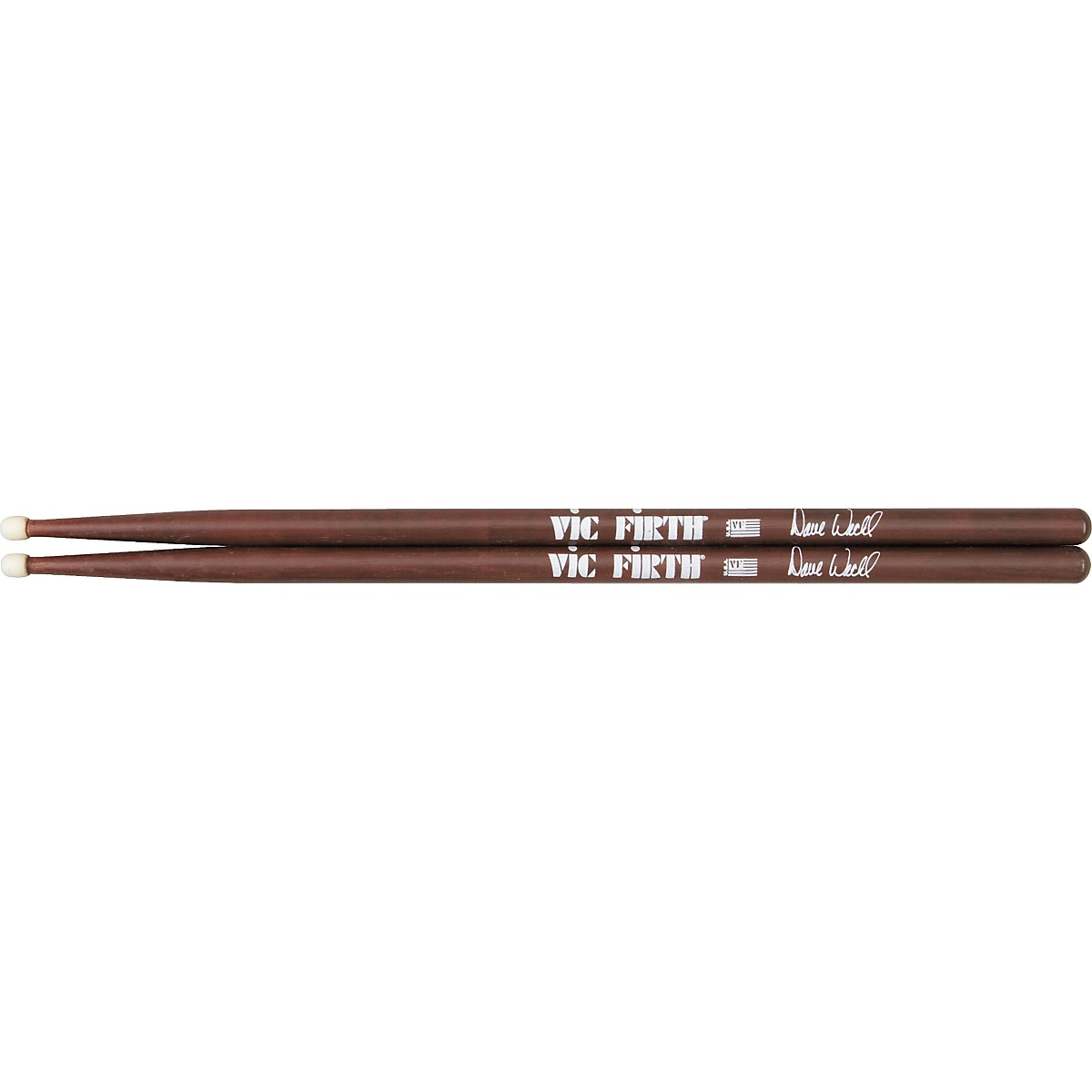 Available in 5 sizes Perfektion Pair Black M ROCK Color Nylon Tip Drumsticks