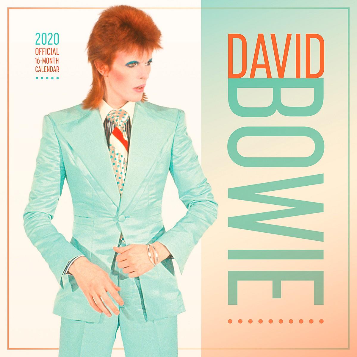 Browntrout Publishing David Bowie 2020 Calendar