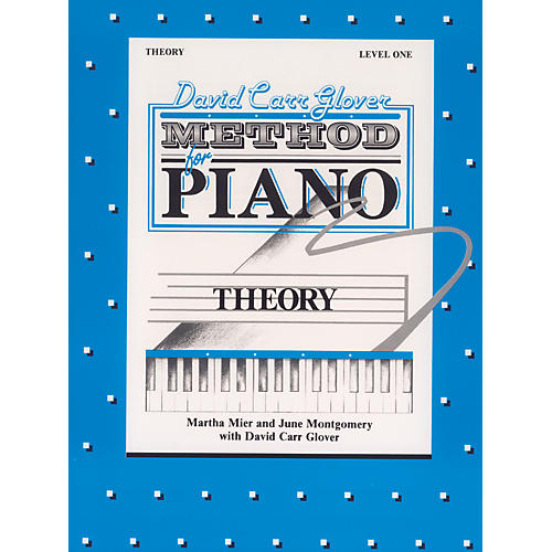 Alfred David Carr Glover Method for Piano Theory Level 1