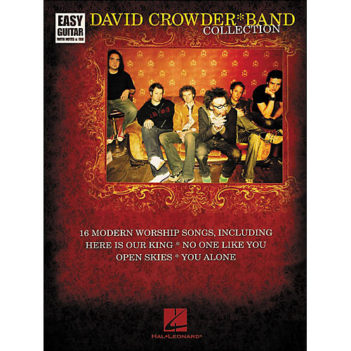 Hal Leonard David Crowder*Band Collection Easy Guitar Tab