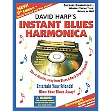 Music Sales David Harp's Instant Blues Harmonica Music Sales America Series Softcover with CD Written by David Harp