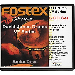 Fostex David Jones Drums VF Series (6-CD set)