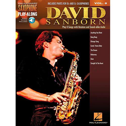 Hal Leonard David Sanborn - Saxophone Play-Along Vol. 8 (Book/Audio Online)