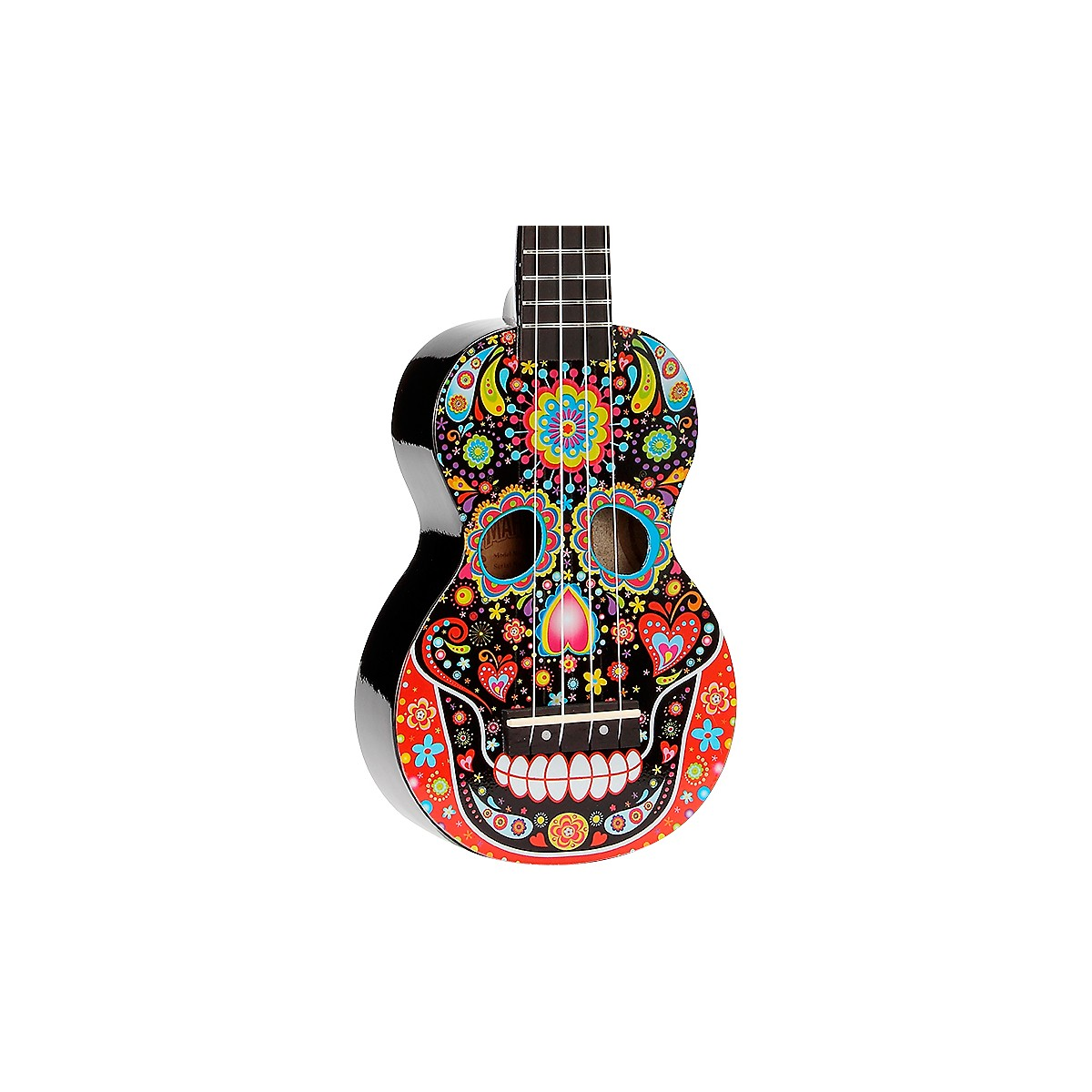 Mahalo Day Of The Dead Soprano Ukulele