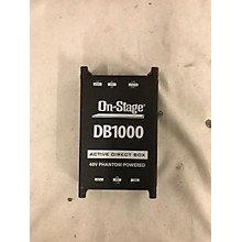 On-Stage Db1000 Direct Box
