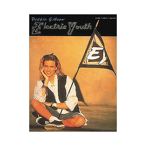 Hal Leonard Debbie Gibson - Electric Youth Piano/Vocal/Guitar Artist Songbook