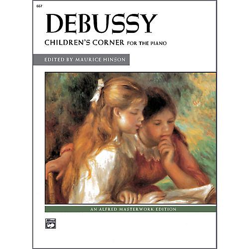 Alfred Debussy Children's Corner Late Intermediate / Early Advanced Piano