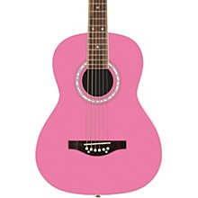 Debutante Jr. Miss Acoustic Guitar Bubble Gum Pink