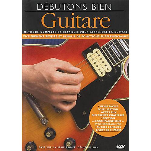 Music Sales Debutons Bien: La Guitare Music Sales America Series DVD Written by Arthur Dick