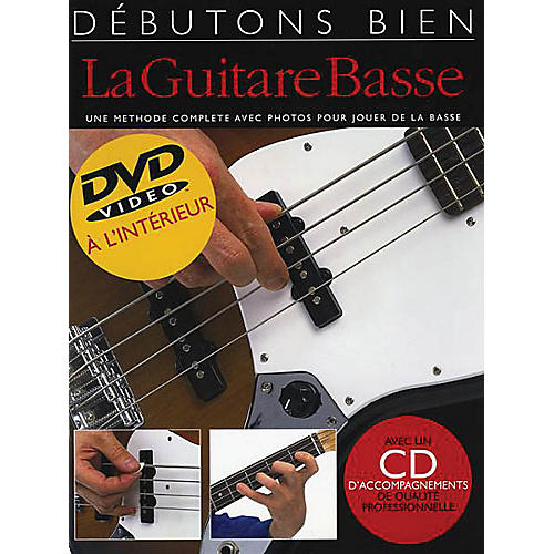 Music Sales Debutons bien la guitare basse - Absolute Beginners Bass French Edition Music Sales America by P Mulford