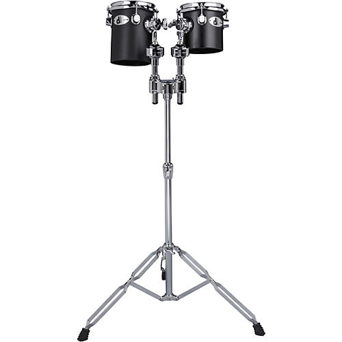 Ddrum Deccabons, Black 6 in. and 8 in.