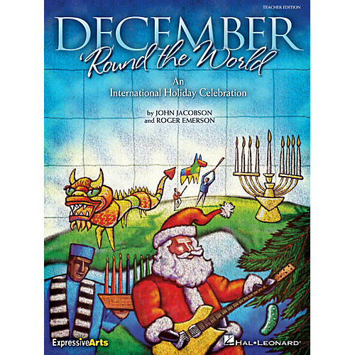 Hal Leonard December 'Round the World (An International Holiday Celebration) ShowTrax CD Composed by Roger Emerson