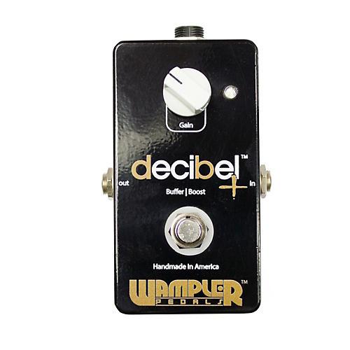 Wampler Decibel + - Boost/Buffer Guitar Effects Pedal