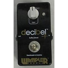 Wampler Decibel Plus Boost Buffer Effect Pedal