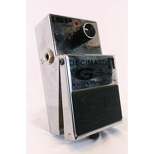 Isp Technologies Decimator II G String Noise Reduction Effect Pedal