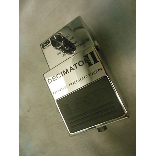 In Store Used Decimator Ii Silver Effect Pedal