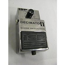 Isp Technologies Decimator Noise Reduction II Effect Pedal