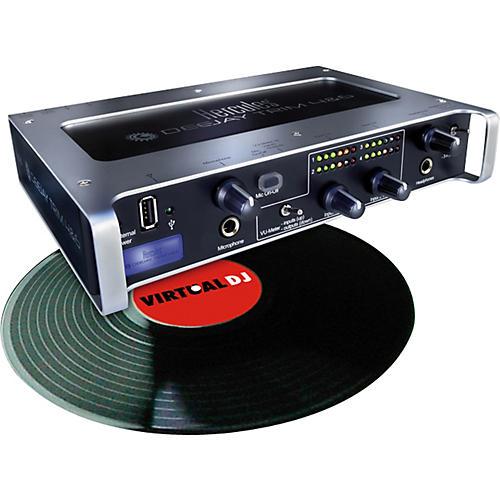 Hercules DJ DeeJay Trim + Scratch 4&6 DJ Audio Interface and Time Code Software