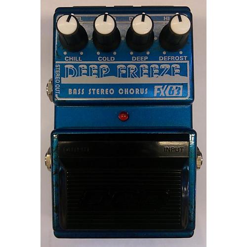 DOD Deep Freeze Chorus Bass Effect Pedal