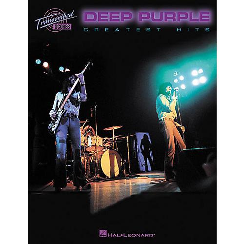 Hal Leonard Deep Purple - Greatest Hits Book