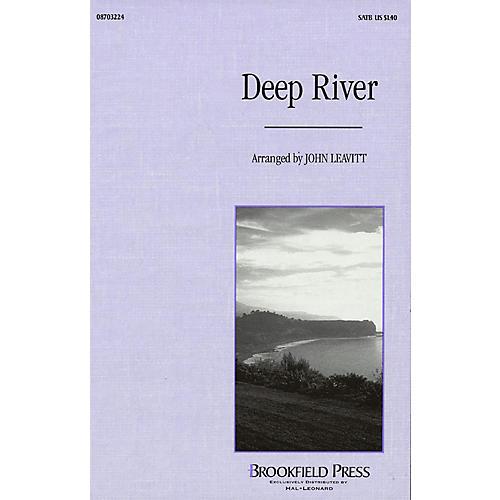 Brookfield Deep River SATB arranged by John Leavitt