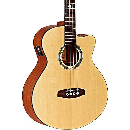 Ortega Deep Series 5 D538-4 Mahogany Acoustic-Electric Bass