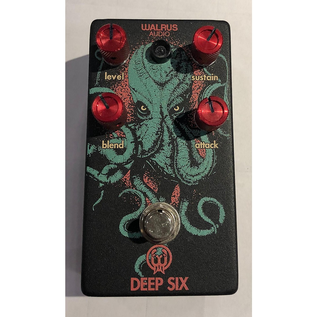 Walrus Audio Deep Six Compressor Custom Effect Pedal