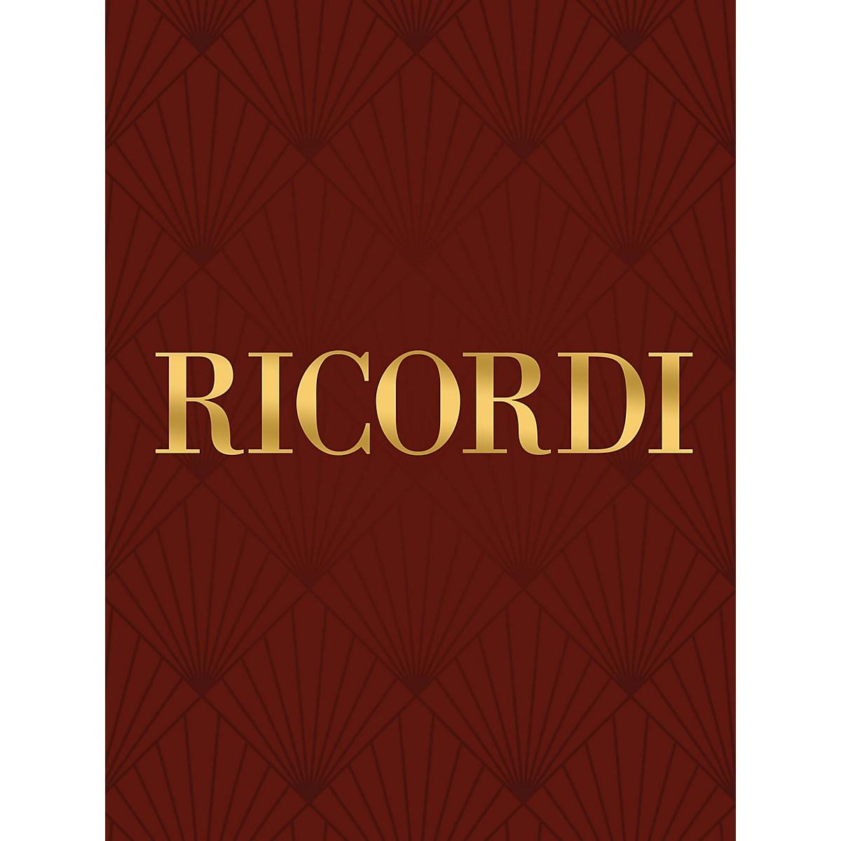 Ricordi Del suo natio rigore RV653 Study Score Series Composed by Antonio Vivaldi Edited by Francesco Degrada