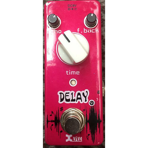 XVive Delay Effect Pedal