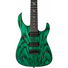 Dellinger 7 FX-AM 7-String Electric Guitar Dark Green Matte