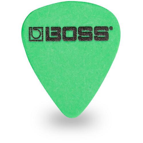 Boss Delrin Medium Heavy Green Guitar Pick (12-Pack)