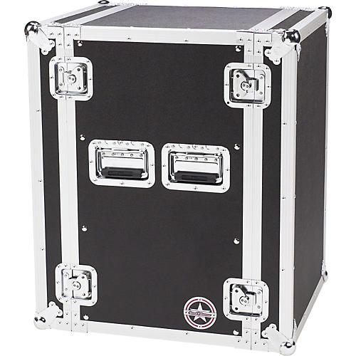 Road Runner Deluxe 16U Amplifier Rack Case
