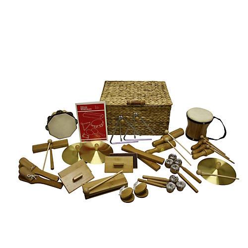 Rhythm Band Deluxe 25 Player Bamboo Rhythm Kit