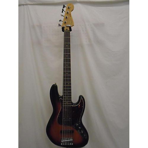 used fender deluxe active jazz bass v 5 string electric bass guitar 3 color sunburst guitar center. Black Bedroom Furniture Sets. Home Design Ideas