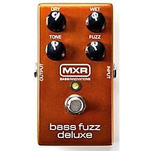 MXR Deluxe Bass Fuzz Effects Pedal Level 1