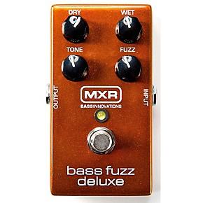 mxr deluxe bass fuzz effects pedal guitar center. Black Bedroom Furniture Sets. Home Design Ideas