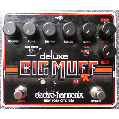 Electro-Harmonix Deluxe Big Muff Distortion Effect Pedal