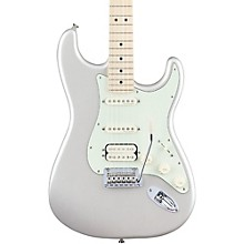 Deluxe HSS Stratocaster with Maple Fingerboard Blizzard Pearl