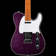 Deluxe Journeyman Relic Telecaster Electric Guitar Magenta Sparkle