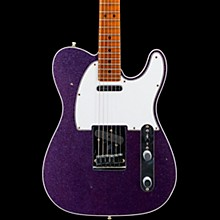 Deluxe Journeyman Relic Telecaster Electric Guitar Purple Sparkle