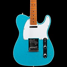 Deluxe Journeyman Relic Telecaster Electric Guitar Taos Turquoise Sparkle