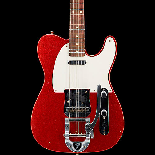 Fender Custom Shop Deluxe Journeyman Relic Twisted Telecaster Bigsby Electric Guitar