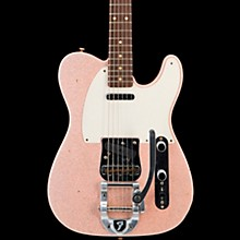 Deluxe Journeyman Relic Twisted Telecaster Bigsby Electric Guitar Shell Pink Sparkle
