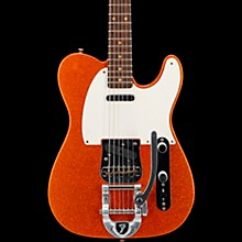 Deluxe Journeyman Relic Twisted Telecaster Bigsby Electric Guitar Sunfire Orange Flake