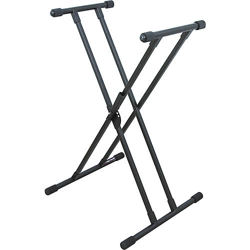 On-Stage Deluxe Keyboard X Stand