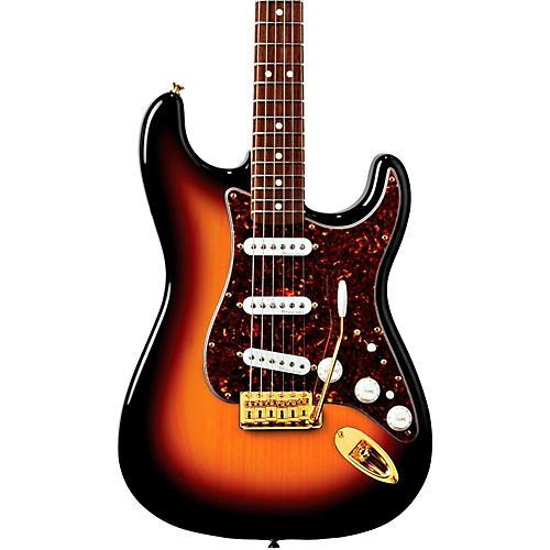 fender deluxe players stratocaster electric guitar 3 color sunburst rosewood fretboard guitar. Black Bedroom Furniture Sets. Home Design Ideas