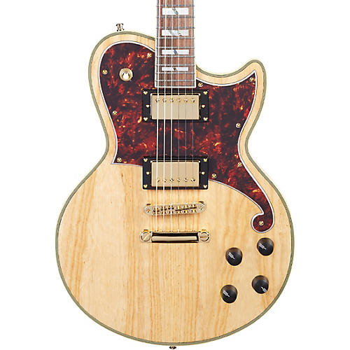 D'Angelico Deluxe Series Atlantic Swamp Ash Electric Guitar with Stopbar Tailpiece