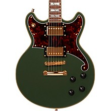 Deluxe Series Brighton Electric Guitar with Stopbar Tailpiece Hunter Green