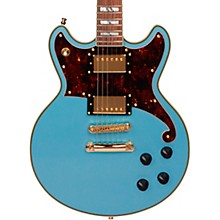Deluxe Series Brighton Electric Guitar with Stopbar Tailpiece Steel Blue