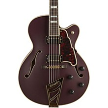 D'Angelico Deluxe Series DH Hollowbody Electric Guitar with Custom Seymour Duncan Pickups and Stairstep Tailpiece
